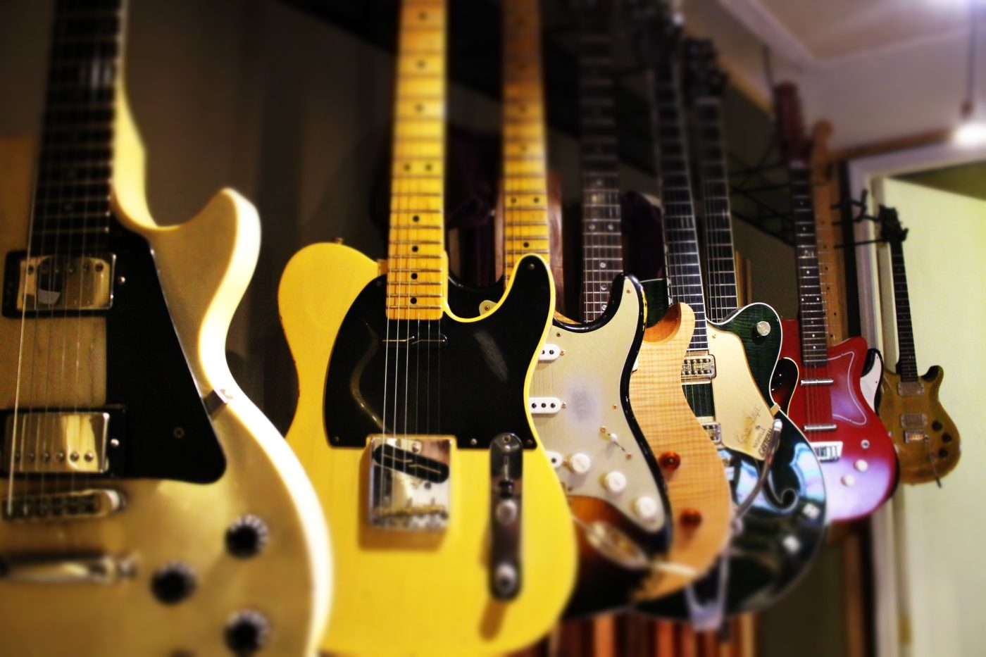 Guitars in Music City Nashville, Tennessee