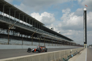 Indy 500 racetrack