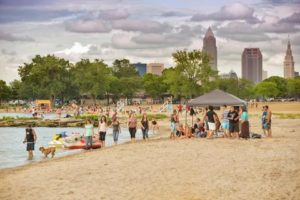 Edgewater Beach Cleveland Ohio