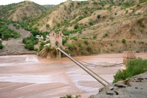 Bolivian bridge Project World School