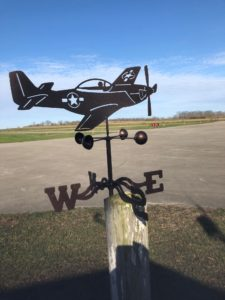 Point A to Point B Wind Direction Statuette