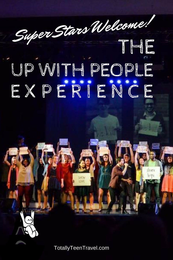 Up with People Experience